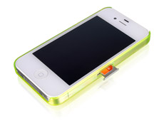 iphone 4 without sim card slot luxa2 icicle iphone 4 4s 19296