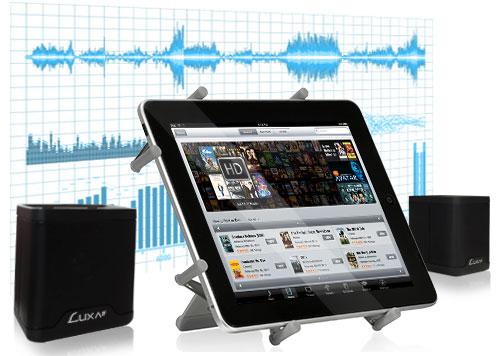 LUXA2-Groovy Duo Live Wireless Speaker