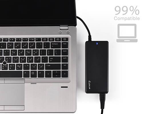 Luxa2 PO-ULA-PC90BK-00 EnerG Bar 90W Universal Laptop AC Power Adapter
